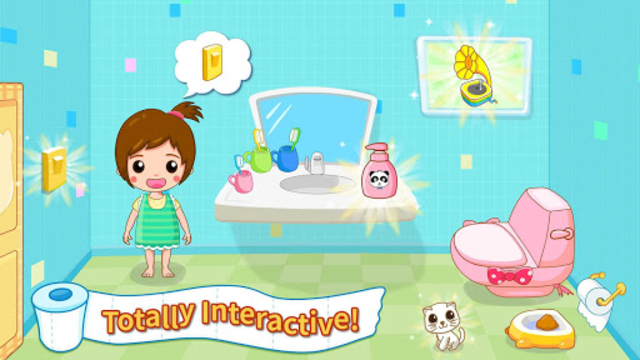 Baby Panda's Potty Training - Toilet Time screenshot 2