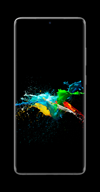 AMOLED Wallpapers - Pitch Black & Dark Backgrounds screenshot 1