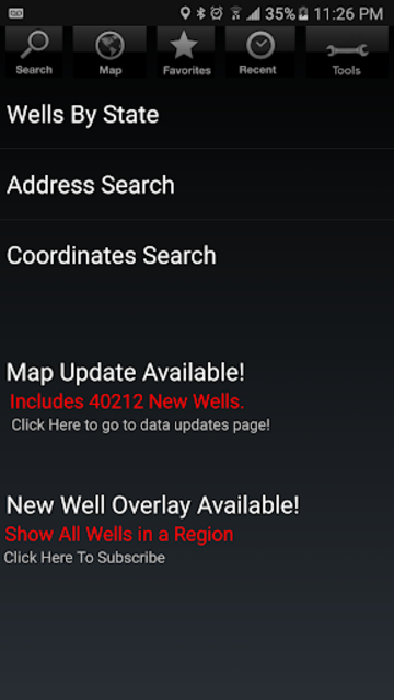 Wellsite Navigator Ultimate screenshot 2