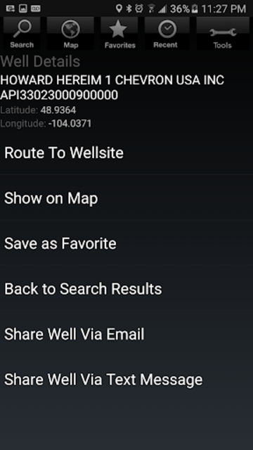 Wellsite Navigator Ultimate screenshot 4