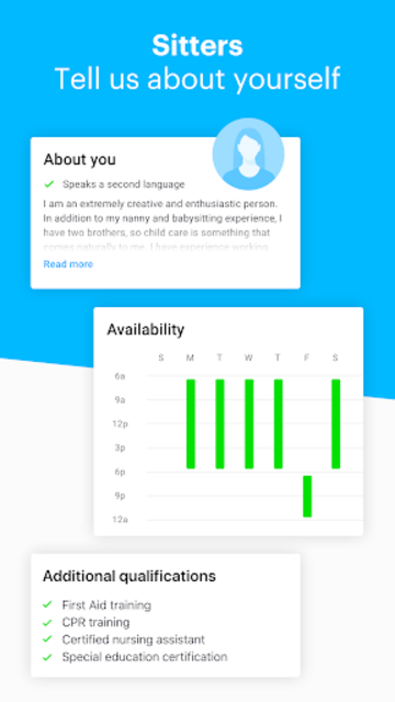 Sittercity screenshot 6