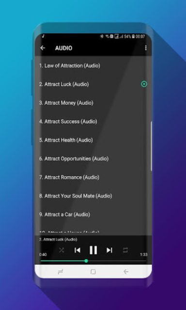 Powerful Affirmations Audio Pro - No Ads screenshot 2