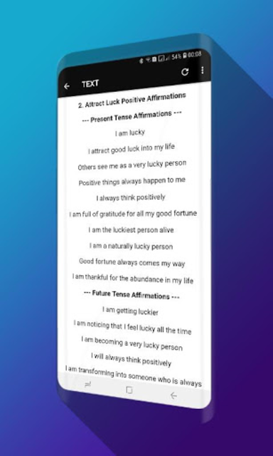 Powerful Affirmations Audio Pro - No Ads screenshot 3