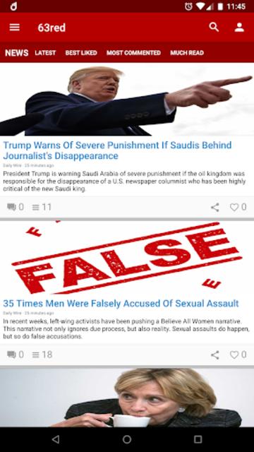 63red News screenshot 1