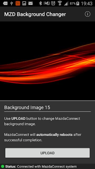 MZD Background Changer DEMO screenshot 2