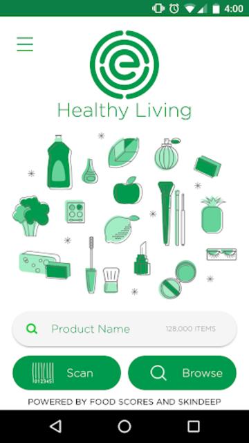 EWG's Healthy Living screenshot 1