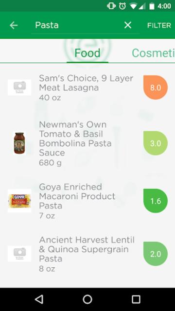 EWG's Healthy Living screenshot 2