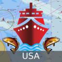 Icon for USA: NOAA Marine Charts & Lake Maps
