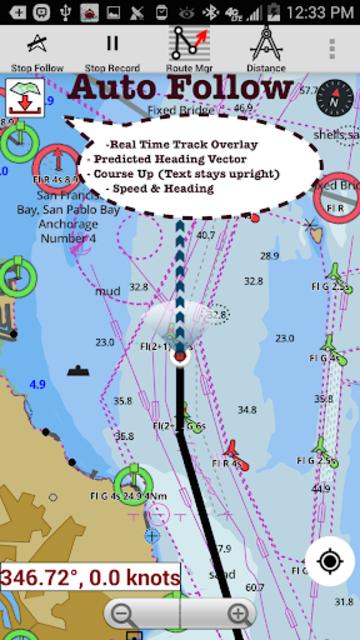 USA: NOAA Marine Charts & Lake Maps screenshot 17