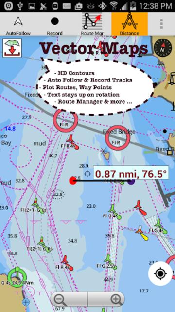USA: NOAA Marine Charts & Lake Maps screenshot 18