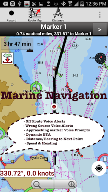 USA: NOAA Marine Charts & Lake Maps screenshot 19