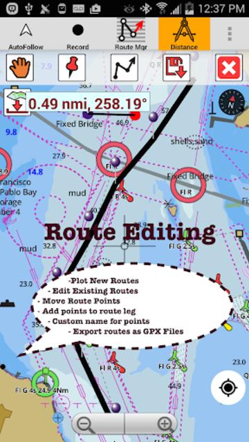 USA: NOAA Marine Charts & Lake Maps screenshot 20
