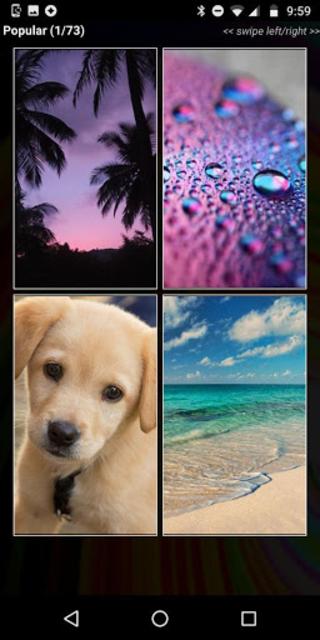 Wallpapers HD - Free Backgrounds & Wallpaper Maker screenshot 1