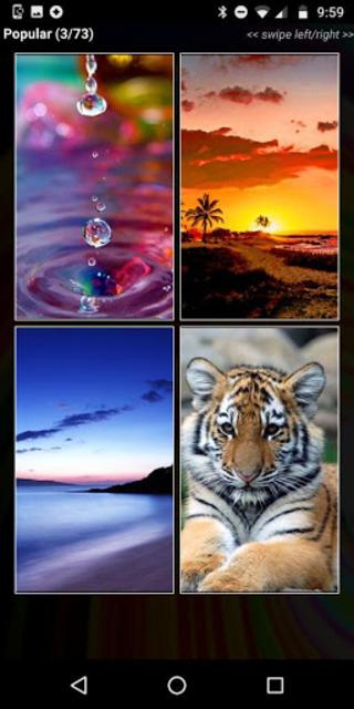 Wallpapers HD - Free Backgrounds & Wallpaper Maker screenshot 2
