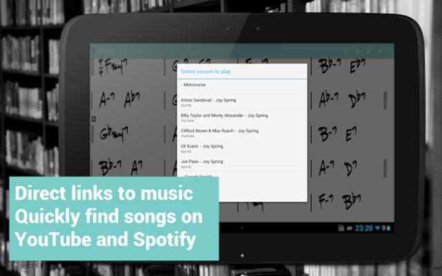 Fakebook Pro: Real Book and PDF Sheet Music Reader screenshot 10