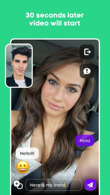 Hola - Random Video Chat screenshot 3
