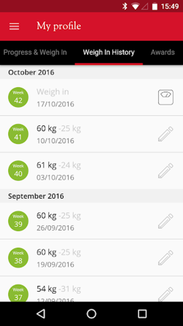 Slimming World Group screenshot 3