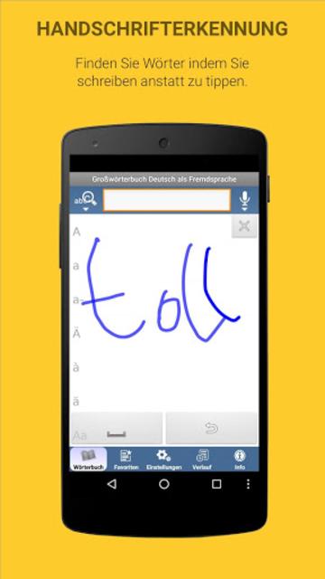 German Learner's Dictionary screenshot 4
