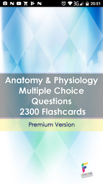 Anatomy & Physiology Multiple Choice Questions screenshot 1