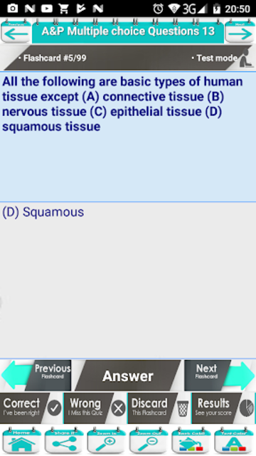 Anatomy & Physiology Multiple Choice Questions screenshot 7