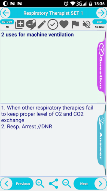 RRT Respiratory Therapist Complete Exam Prep screenshot 4