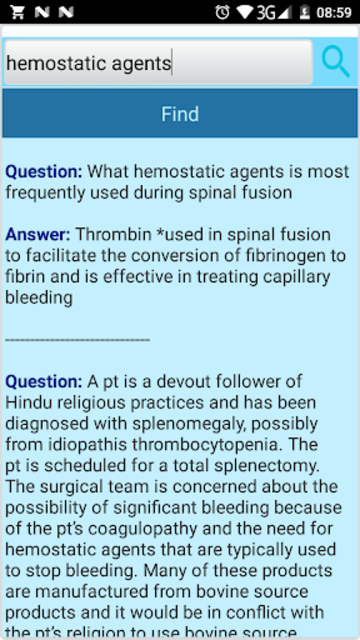 CSFA Surgical First Assistant Exam Prep Questions screenshot 7