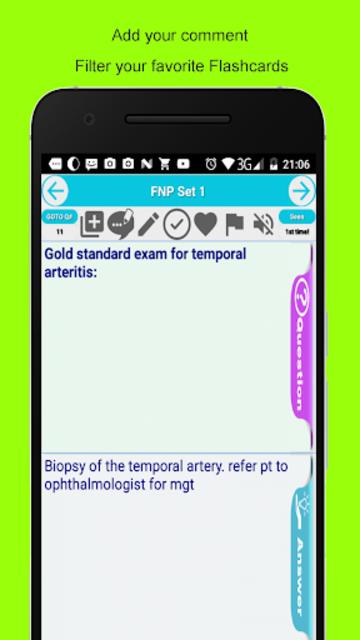 FNP Family Nurse Practitioner Exam Prep Flashcards screenshot 4