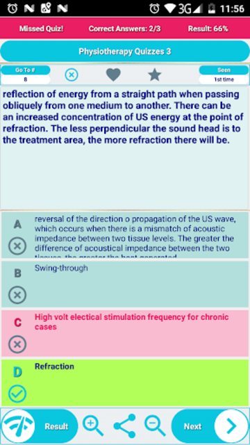 Physiotherapy Practice Test Flashcards & Quizzes screenshot 2