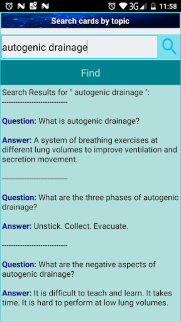 Physiotherapy Practice Test Flashcards & Quizzes screenshot 8