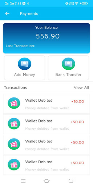 Smart Pay Mobile Wallet & Recharge, Money Transfer screenshot 3