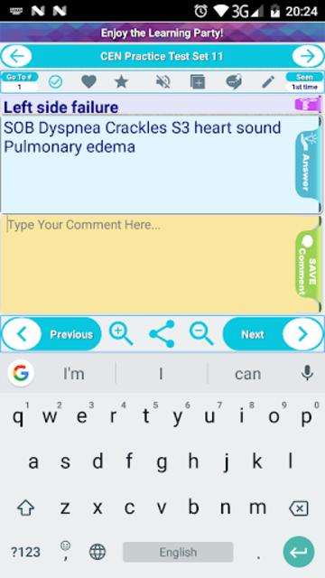 CEN Emergency Nurse Exam Review Flashcards & MCQs screenshot 3
