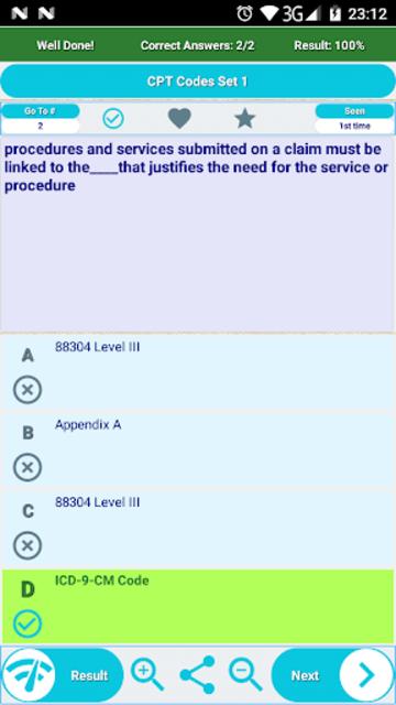 MBCC Medical Billing & Coding Exam Ultimate Review screenshot 2