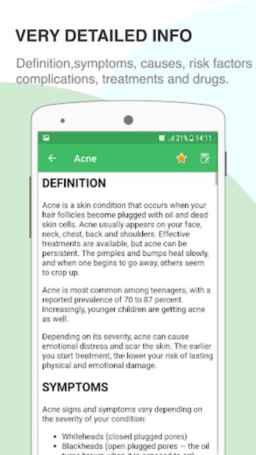 Disorder & Diseases Dictionary screenshot 5