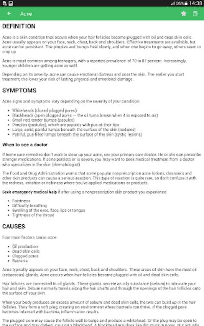 Disorder & Diseases Dictionary screenshot 9