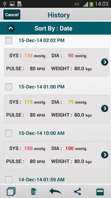 SmartBP - Smart Blood Pressure Diary, Log, Tracker screenshot 17