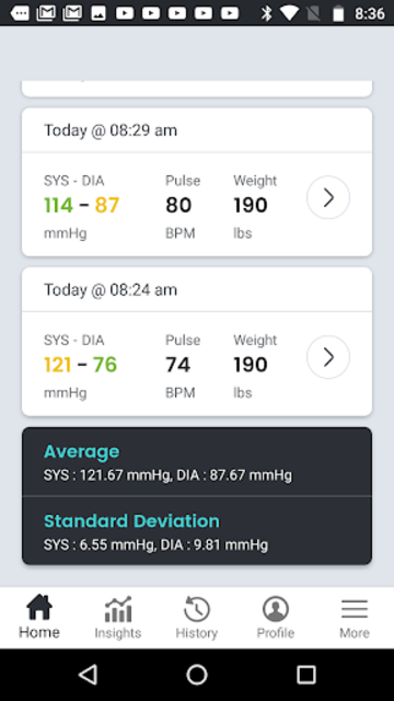 SmartBP - Blood Pressure Diary, Log, Tracker screenshot 7