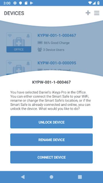 Motorola Smart Safe screenshot 5