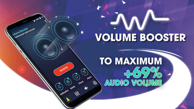 Super Volume Booster: Bass Booter for Android 2019 screenshot 1