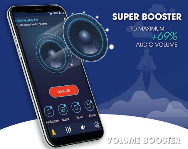 Super Volume Booster: Bass Booter for Android 2019 screenshot 2