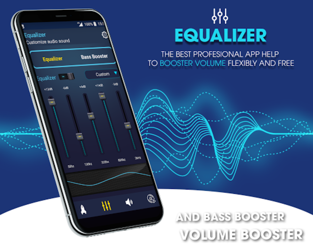 Super Volume Booster: Bass Booter for Android 2019 screenshot 3