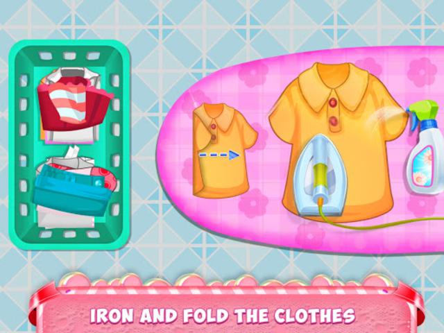 Mom Baby Clothes Washing Laundry screenshot 5