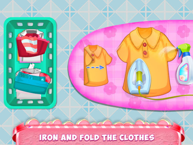 Mom Baby Clothes Washing Laundry screenshot 15