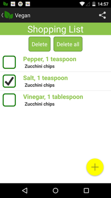 Vegan screenshot 6