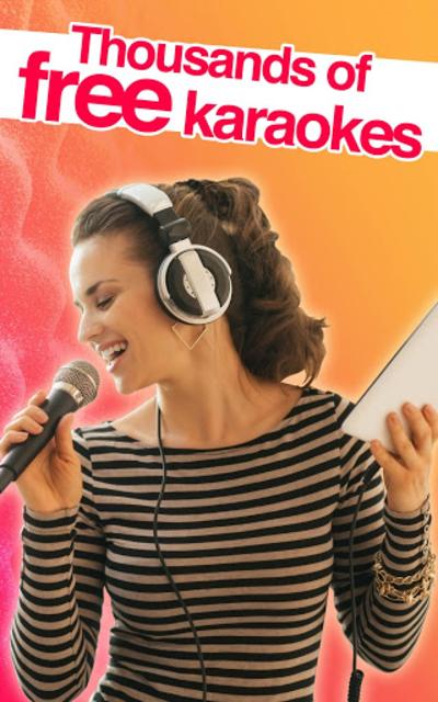 Red Karaoke Sing & Record screenshot 15