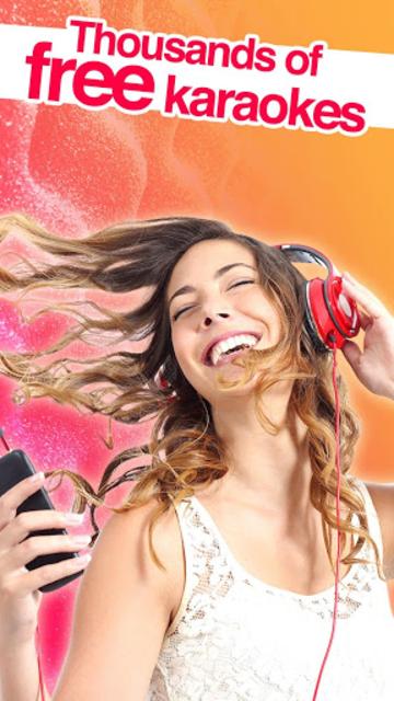 Red Karaoke Sing & Record screenshot 1