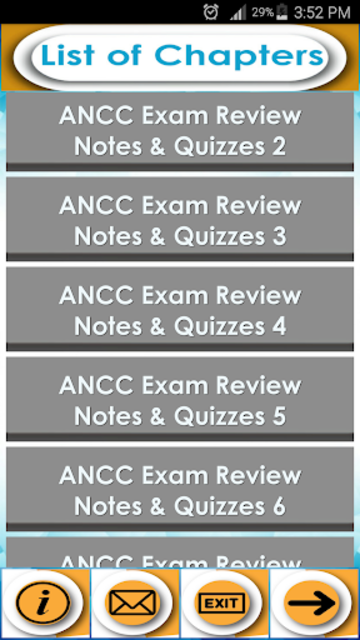 ANCC Exam Review & Study Guide -Notes, Terms & Q&A screenshot 2