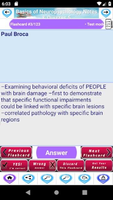 Basics of Neuropsychology for self Learning & Exam screenshot 3