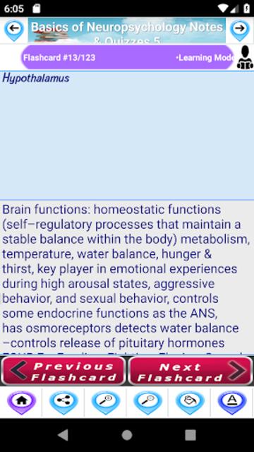 Basics of Neuropsychology for self Learning & Exam screenshot 5