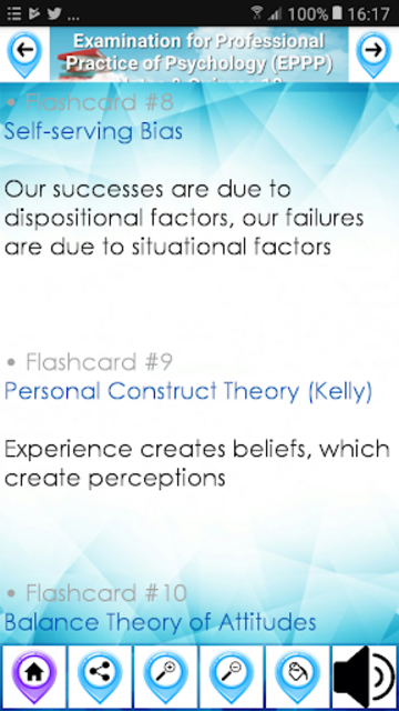 Exam for Professional Practice of Psychology EPPP screenshot 3