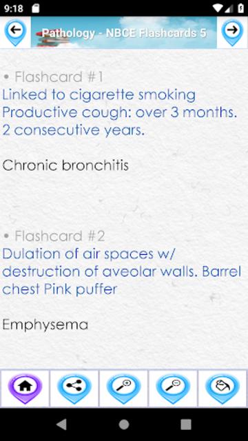 Pathology  Study Notes &  Flashcards for NBCE screenshot 3